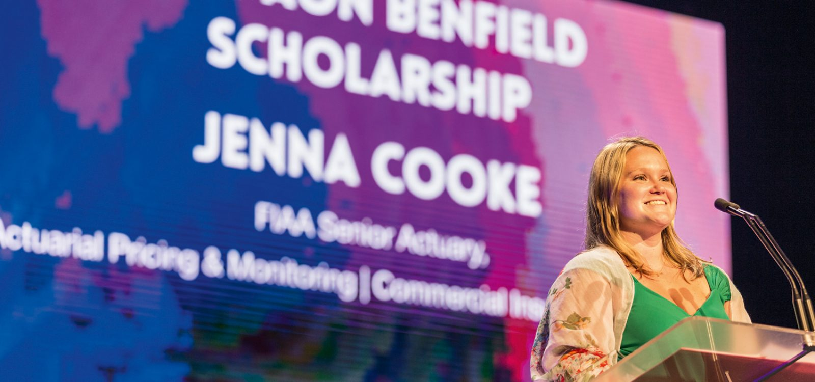 Jenna Cooke – 2014 Aon Benfield Scholarship Winner