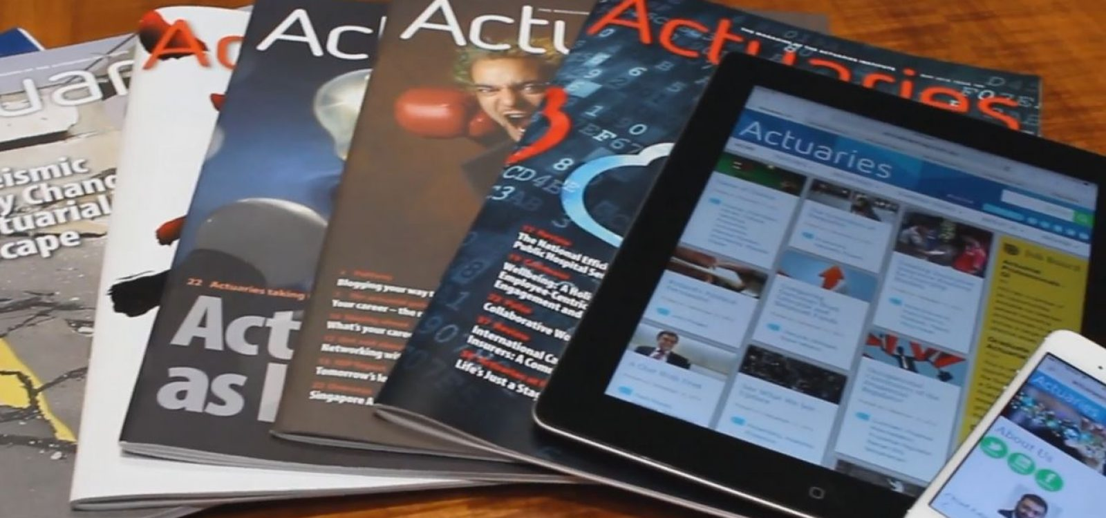 Welcome to Actuaries Digital