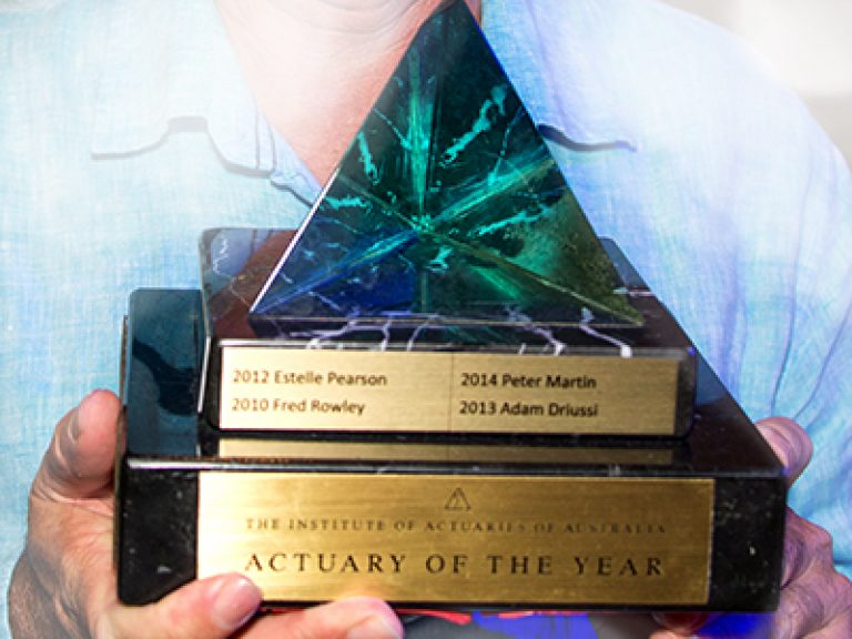 Thumbnail for 2015 Actuary of the Year – Alan Greenfield