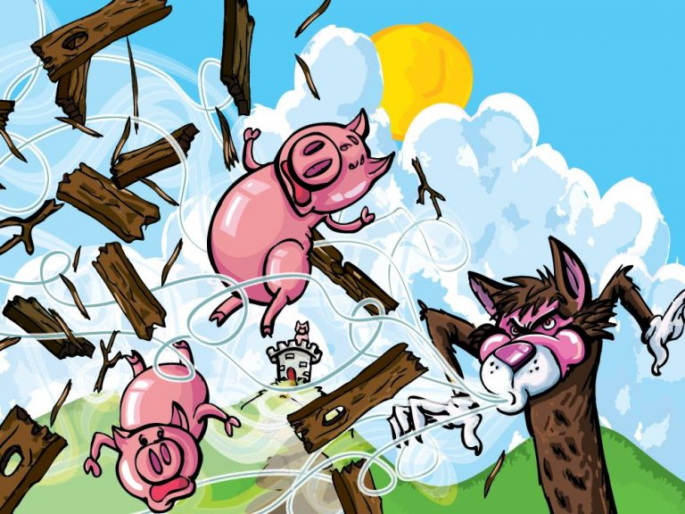 Thumbnail for Three Little Pigs lesson in Disaster Resilience