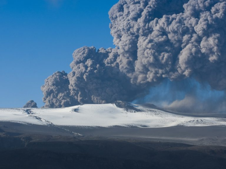 Thumbnail for Volcanic eruptions and disruptions