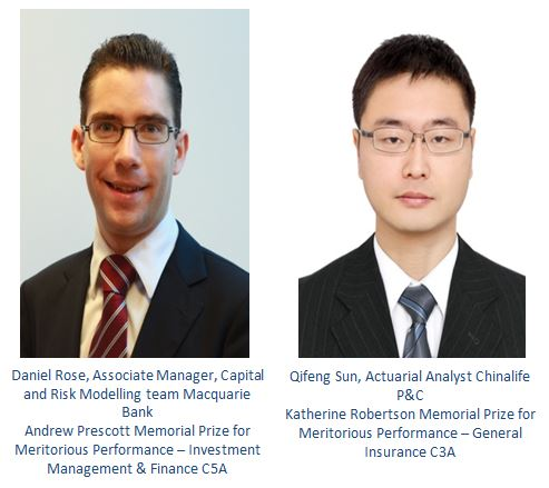Daniel Rose and Qifeng Sun