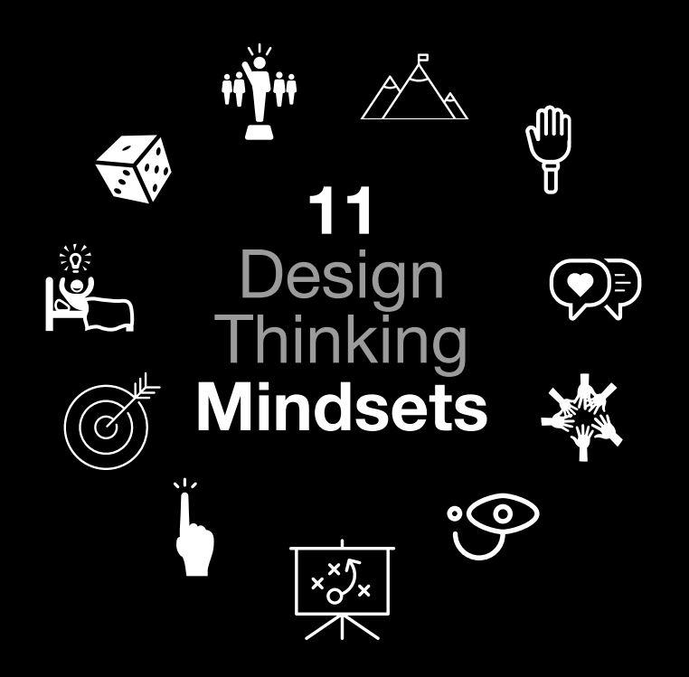 11 deisgn thinking mindsets