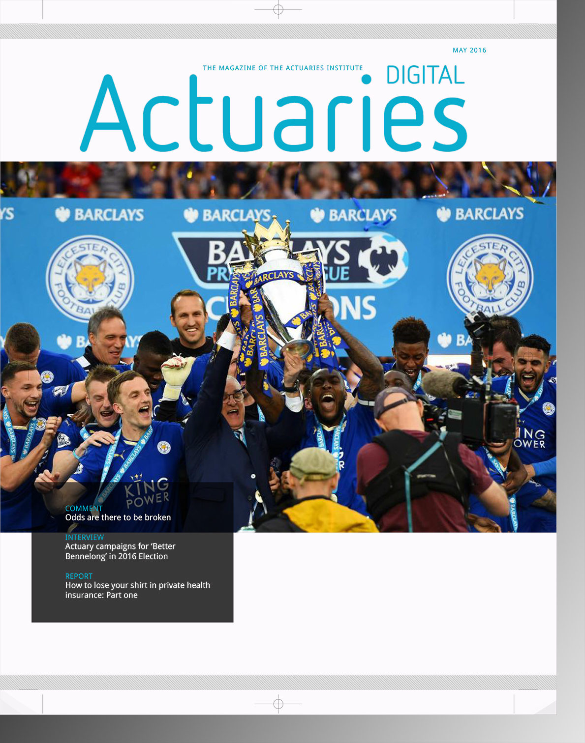 Actuaries Magazine May 2016