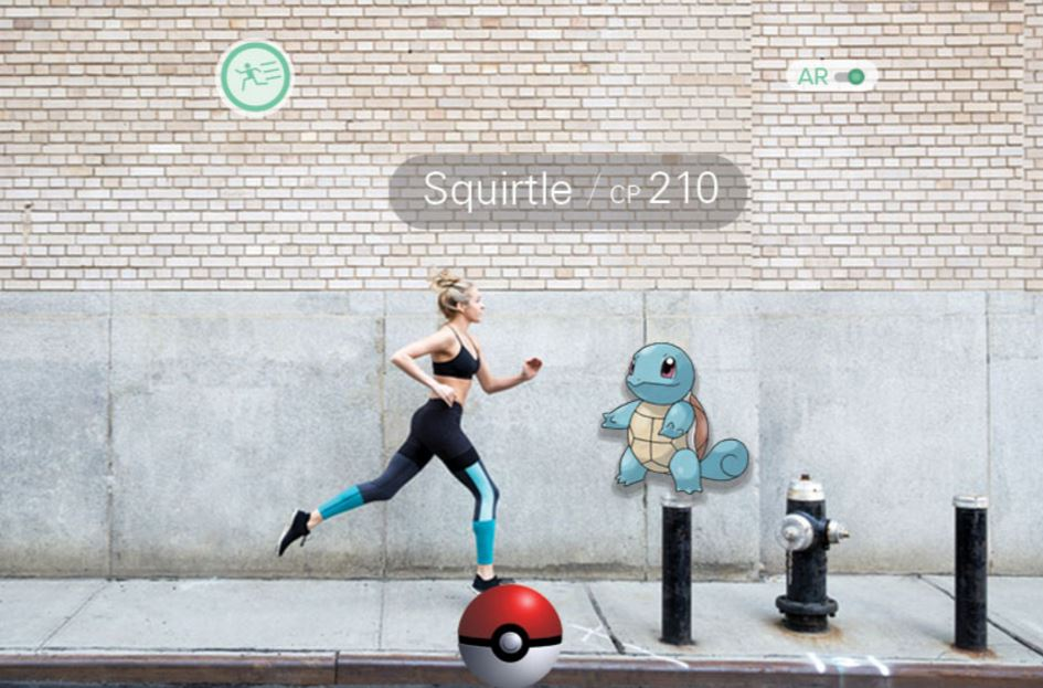 Pokemon GO exercise