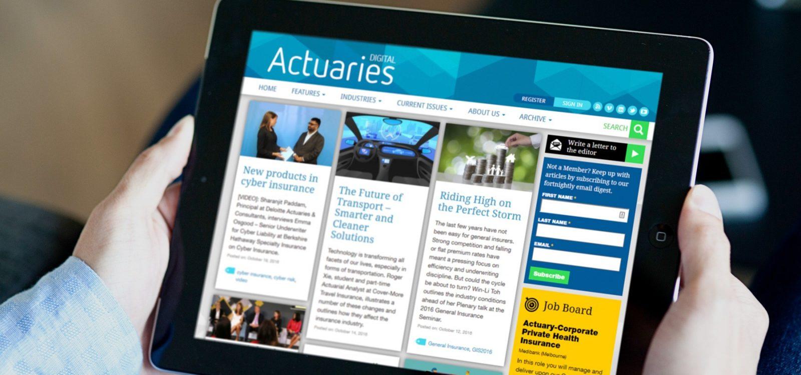 Actuaries Digital review