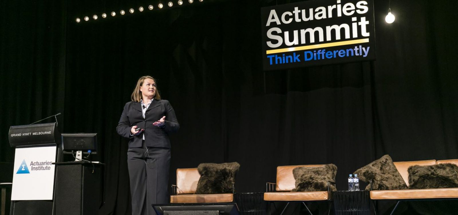 How can actuaries help in human services?