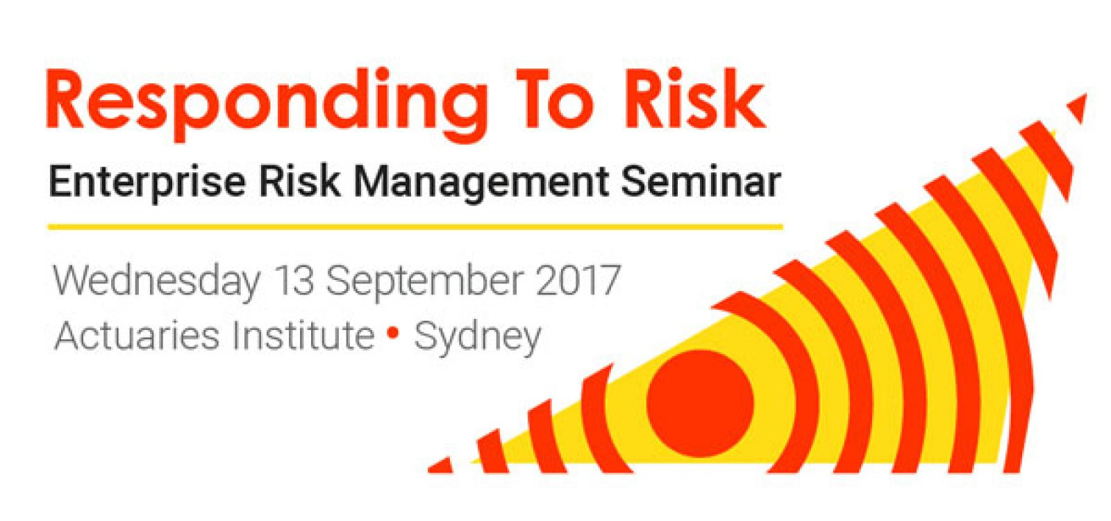 What can you expect at the 2017 ERM Seminar?