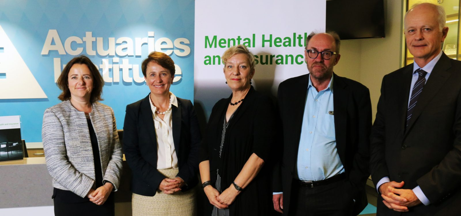 Actuaries report takes the lead in national mental health and insurance conversation
