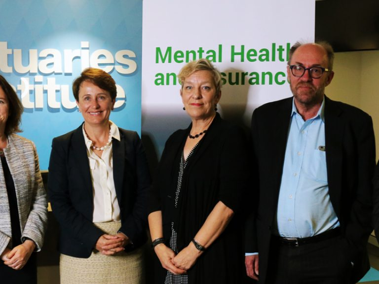 Thumbnail for Actuaries report takes the lead in national mental health and insurance conversation
