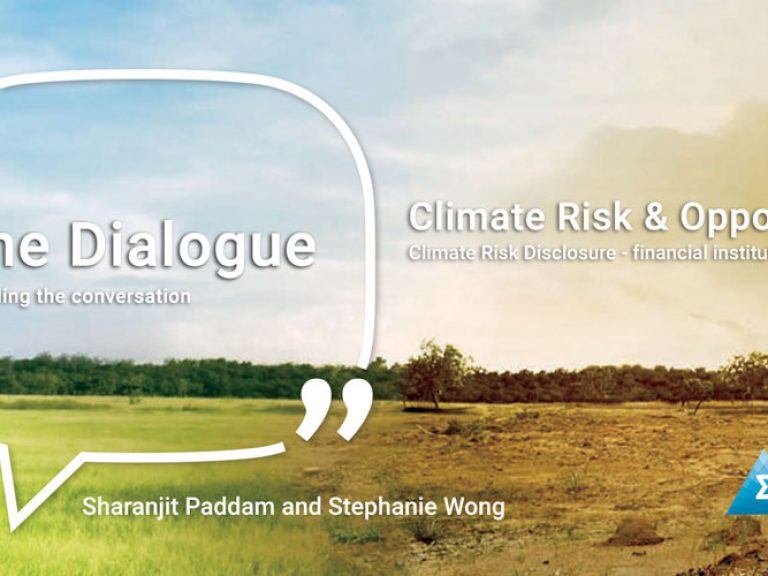 Thumbnail for Climate Risk Disclosure – The Dialogue Podcast