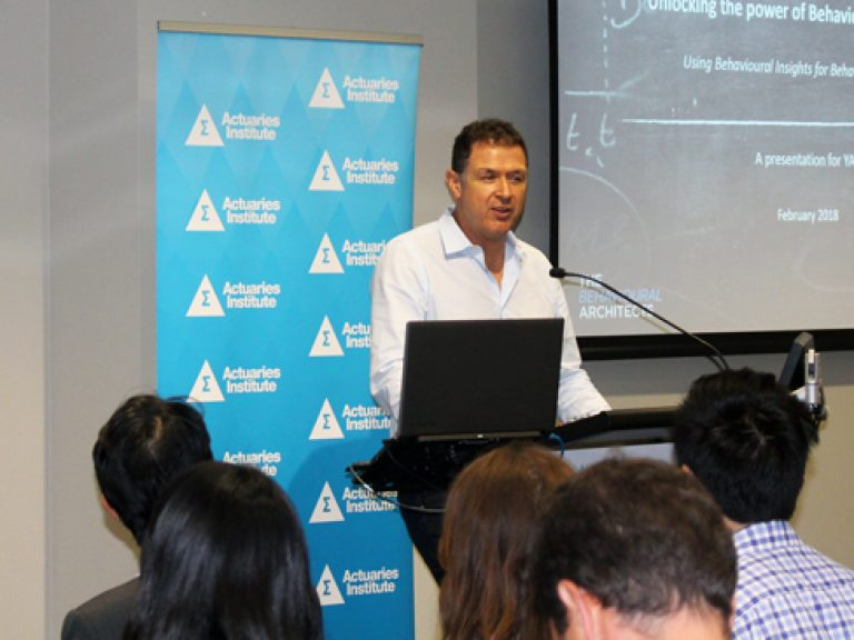 Thumbnail for The power of the nudge – A Young Actuaries Program event report