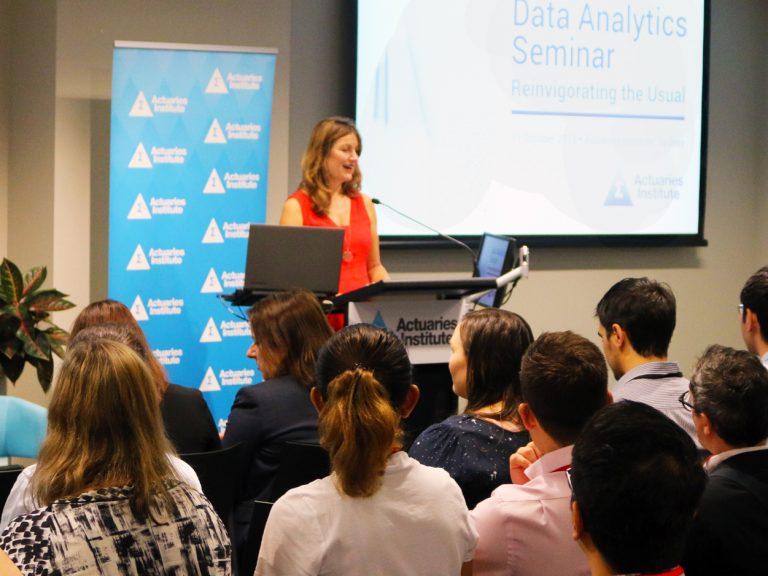 Thumbnail for Data Analytics Seminar 2018: Reinvigorating the Usual