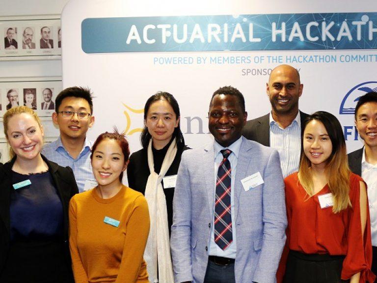Thumbnail for 2019 Actuarial Hackathon Showcase