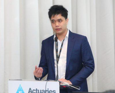 Khar Mun Tang presenting