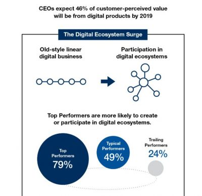 digital ecosystems infographic