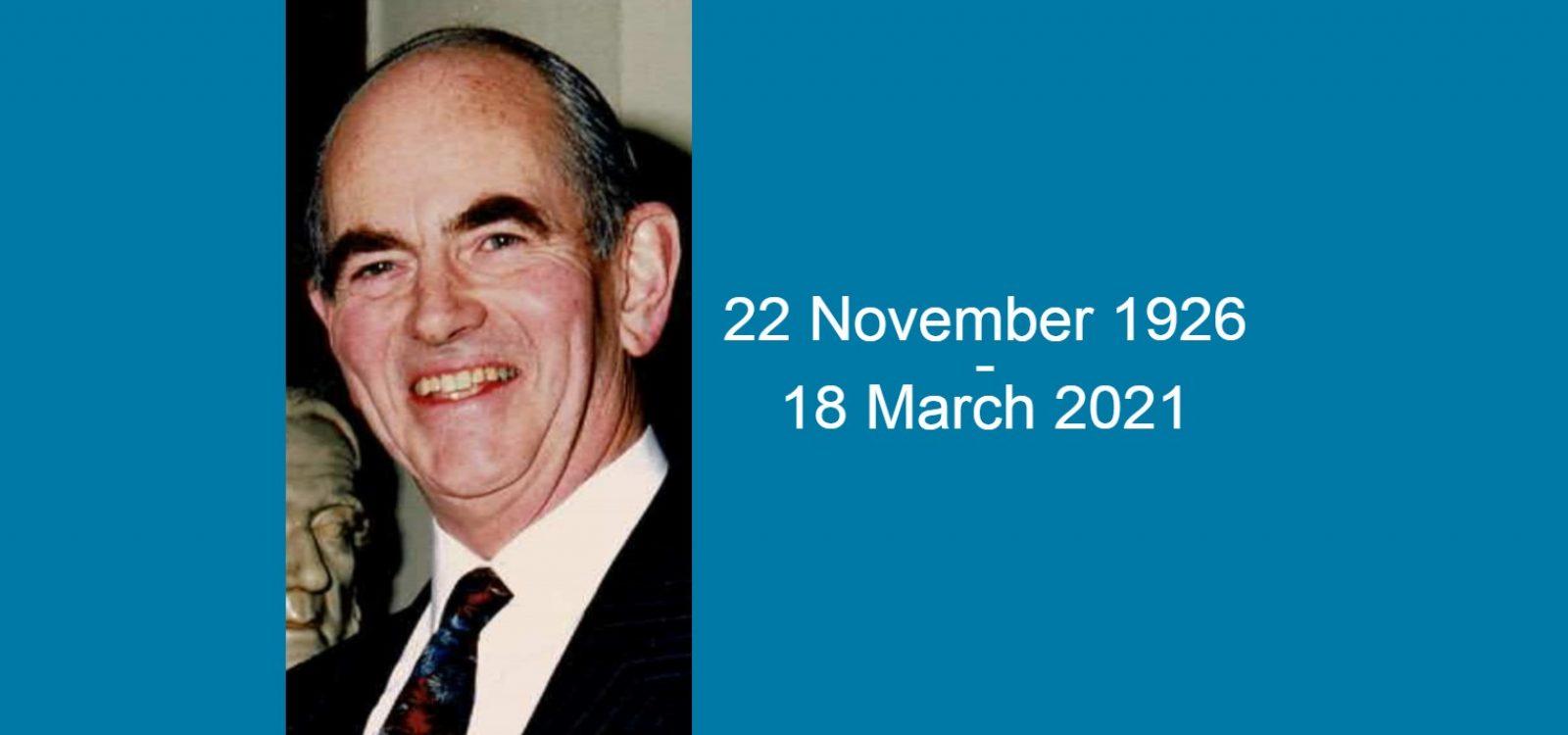 In memoriam Dr Stewart Lyon FIA