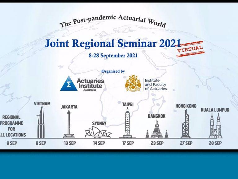 Thumbnail for 2021 Virtual Joint Regional Seminar – The Post-pandemic Actuarial World